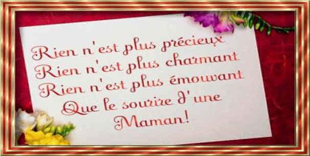 Message de joyeux anniversaire à sa maman