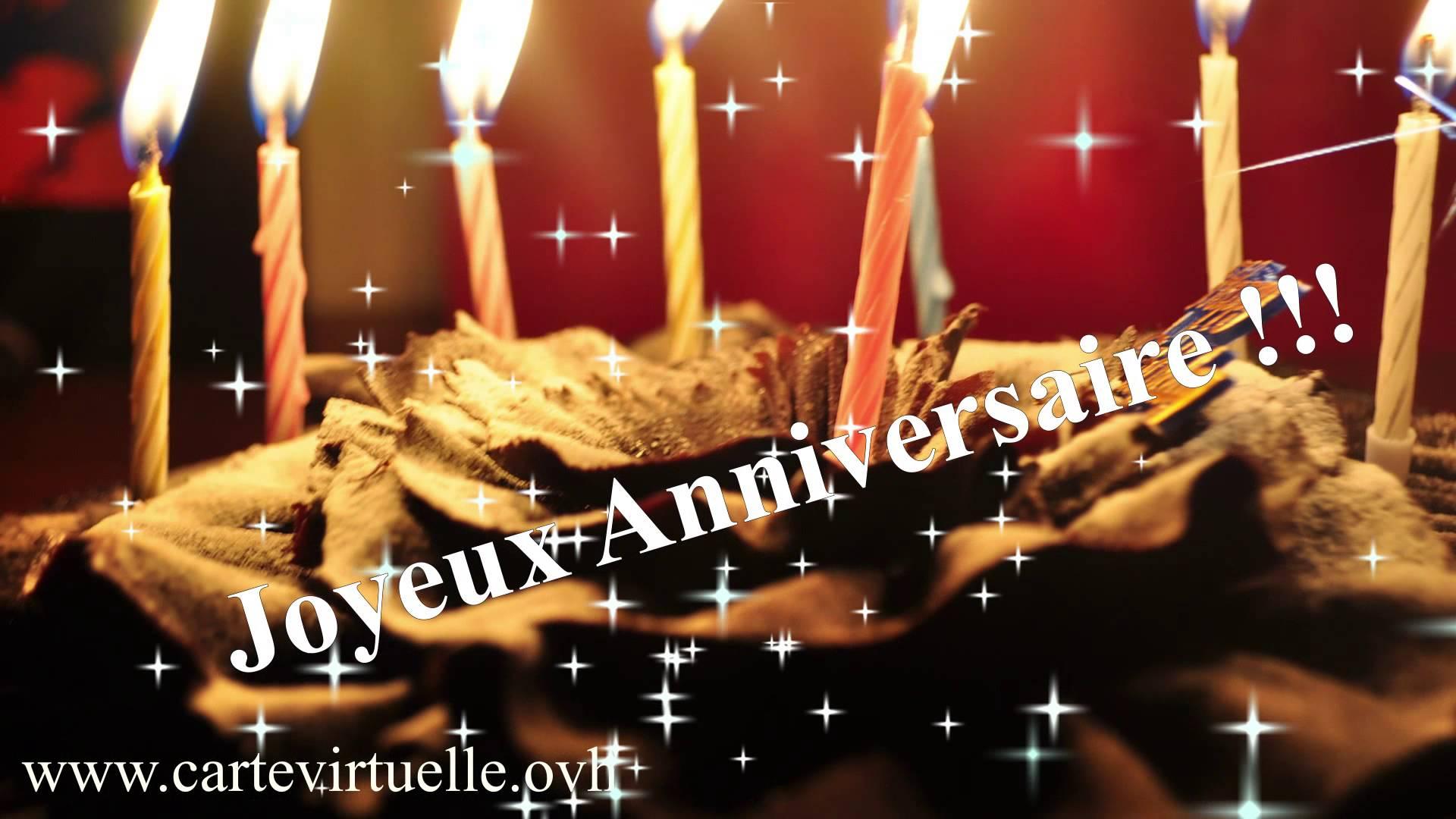 Cyber carte anniversaire gratuite