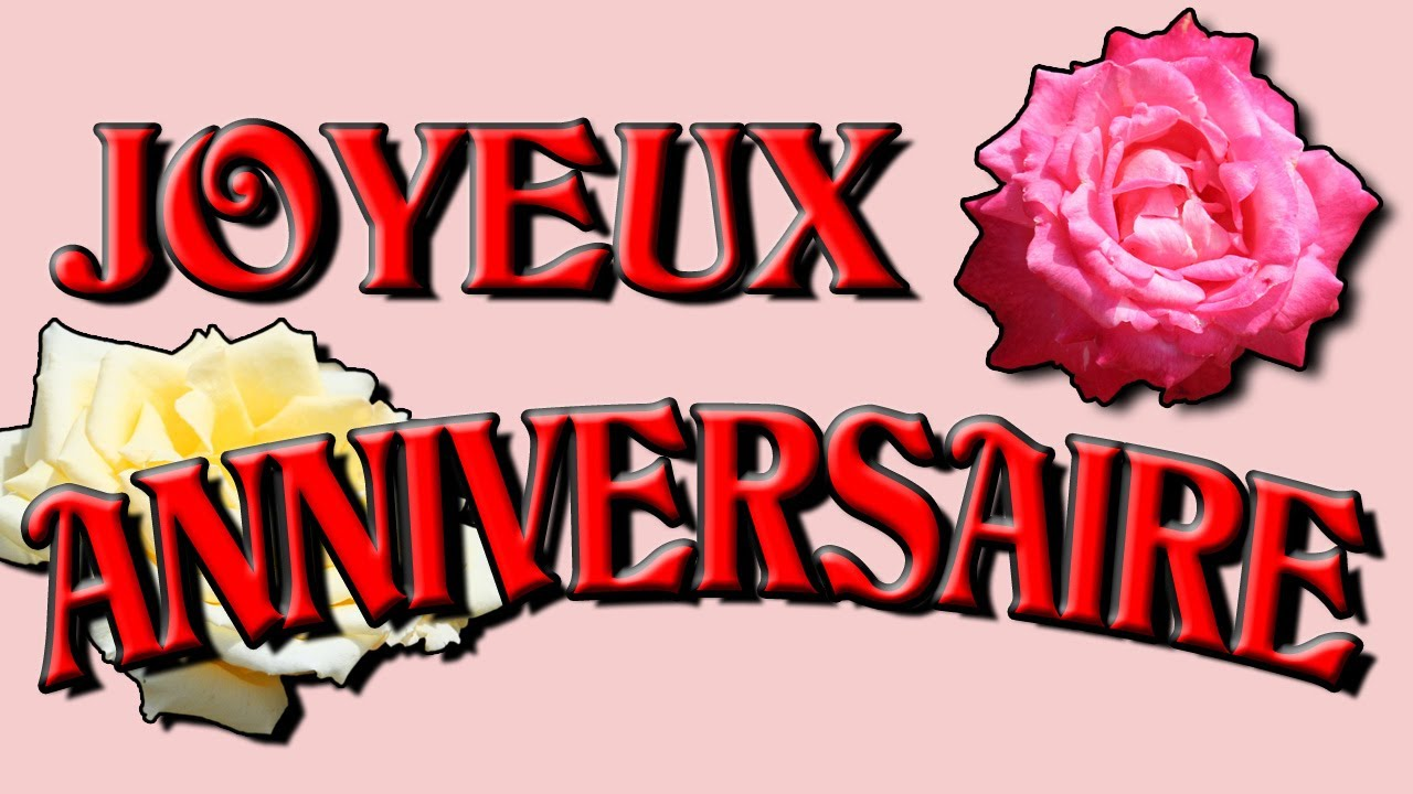 Carte anniversaire musicale sms