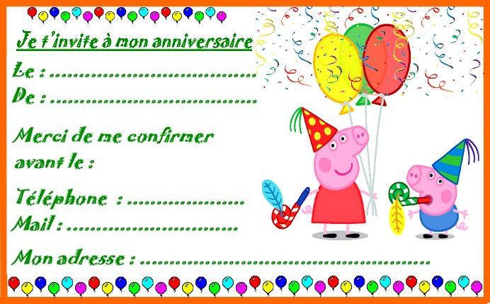 Carte D Invitation Anniversaire Gratuite Pour Garcon Elevagequalitetouraine