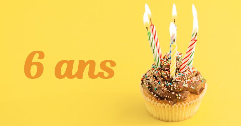 Modèle de texte pour fêter un anniversaire