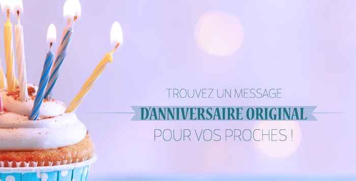 Gateau anniversaire message