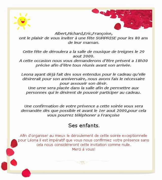 Message invitation anniversaire mariage 20 ans