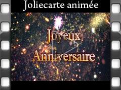 Jolie carte anniversaire a envoyer sur facebook