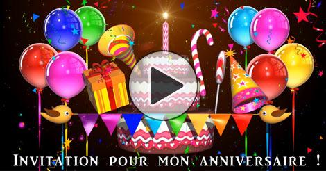 Carte anniversaire virtuelle gratuit