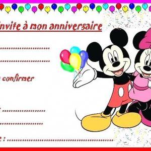 Exemple de carte anniversaire enfant