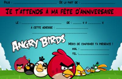 Exemple carte invitation anniversaire mario