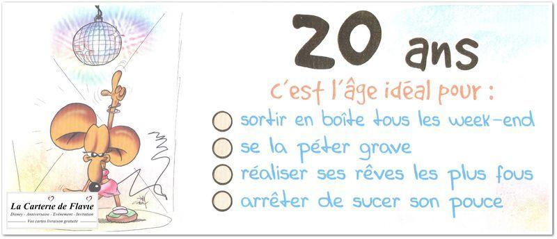 Texte Drole Pour Anniversaire 20 Ans Elevagequalitetouraine