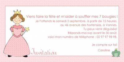 Idée de texte pour carte invitation anniversaire