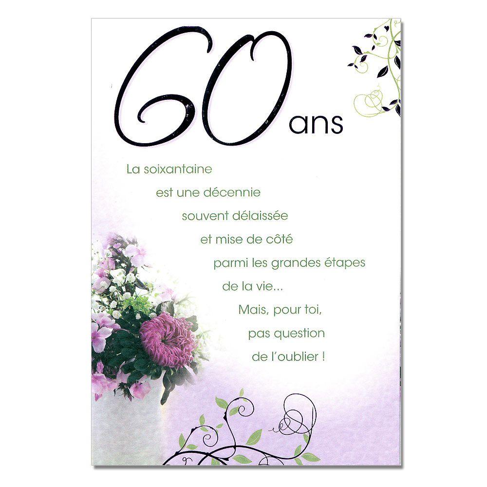 Modele texte carte anniversaire femme