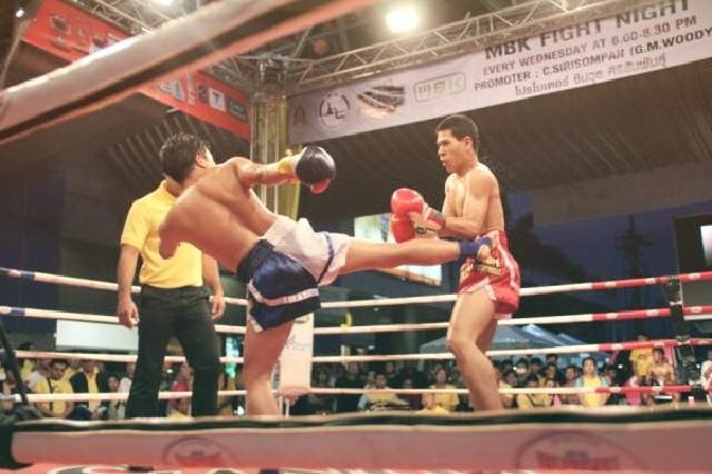 Carte anniversaire boxe thai