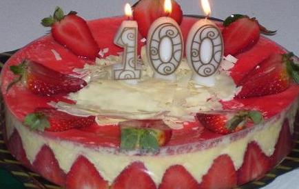 Texte anniversaire pour les 100 ans