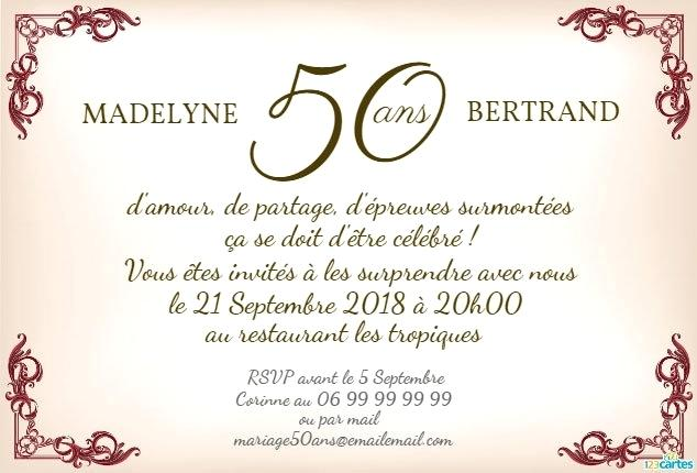 Carte anniversaire invitation restaurant