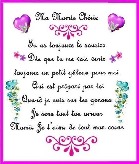 Carte Bonne Anniversaire Mamie Elevagequalitetouraine