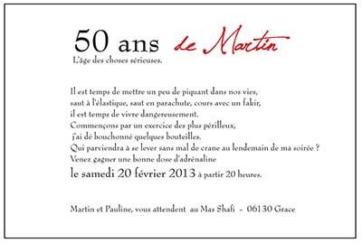Modele Texte Carte Anniversaire 50 Ans Elevagequalitetouraine