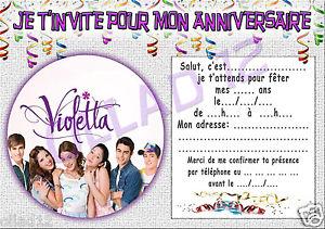 Carte Joyeux Anniversaire Violetta Elevagequalitetouraine