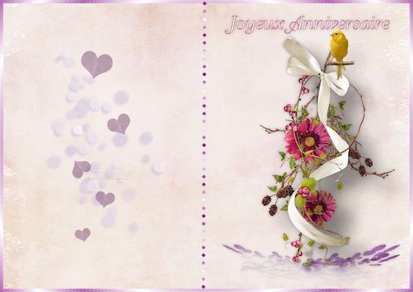 Carte Anniversaire Femme Imprimer Gratuit Elevagequalitetouraine