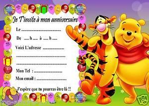 Carte Anniversaire Winnie L Ourson Gratuite Elevagequalitetouraine