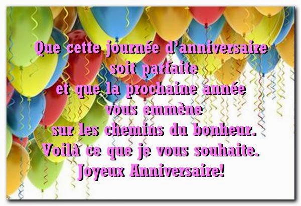 Jolie texte pour souhaiter un joyeux anniversaire