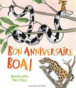 Carte anniversaire serpent