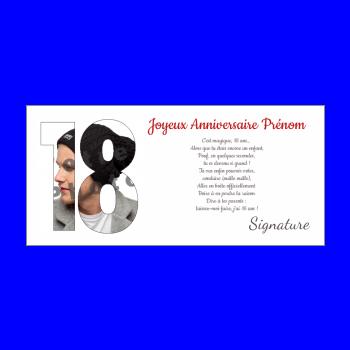 Carte Virtuelle Invitation Anniversaire 18 Ans Gratuite Elevagequalitetouraine