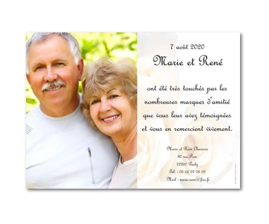 Texte remerciement anniversaire de mariage 20 ans