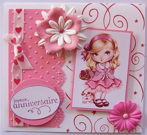 Message anniversaire 3 ans fille