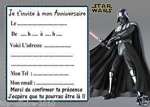 Carte Anniversaire De Star Wars Elevagequalitetouraine