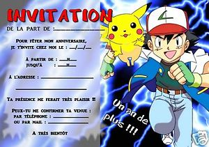 Carte pokemon or anniversaire