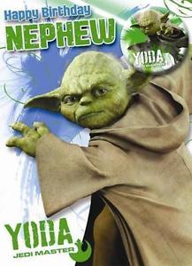 Carte anniversaire yoda
