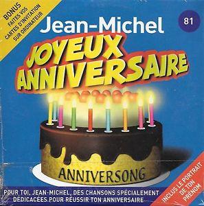 Carte bon anniversaire michel