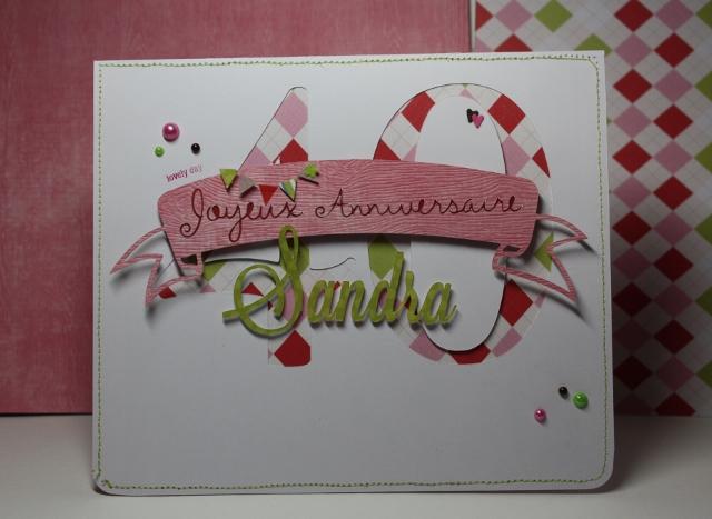 Tuto carte anniversaire 30 ans