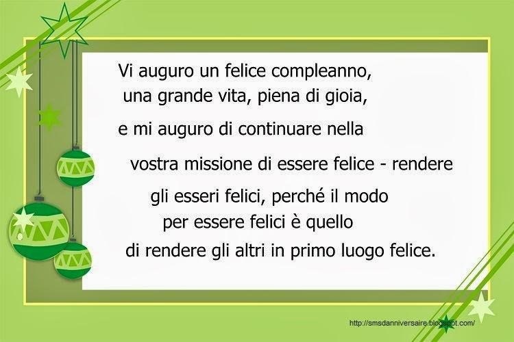 Texte anniversaire 18 ans en italien