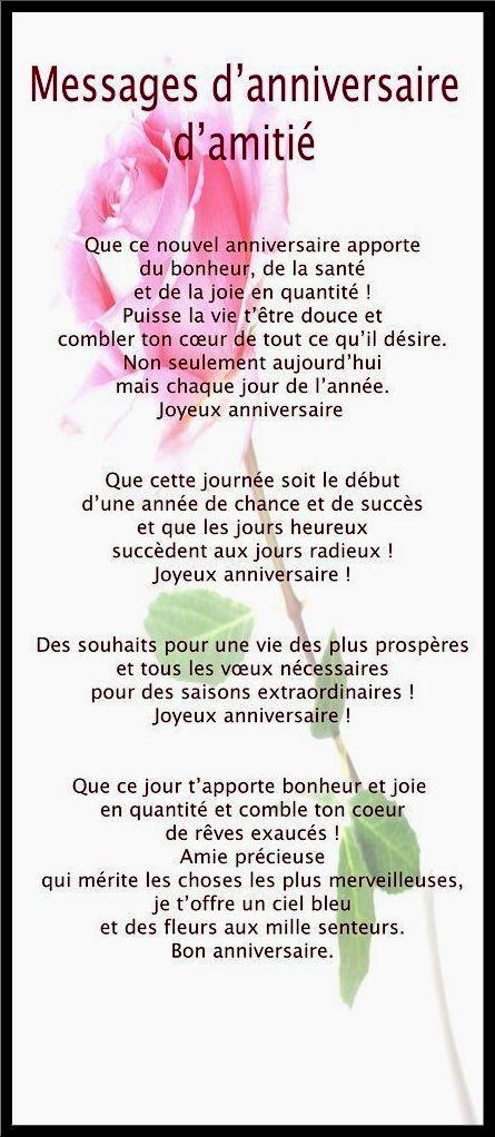 Texte Anniversaire 50 Ans A Une Amie Elevagequalitetouraine