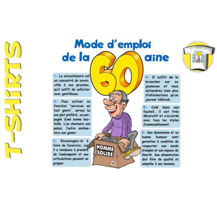 Texte humour anniversaire 60 ans