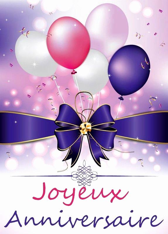Carte joyeux anniversaire gratuite avec prenom