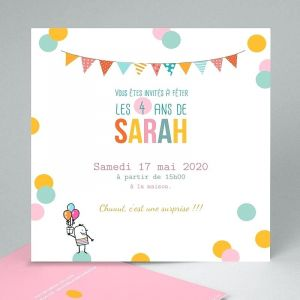 Texte anniversaire pour petite fille 4 ans