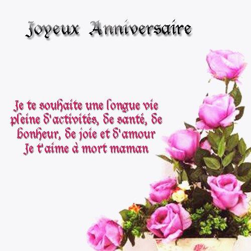 Message Joyeux Anniversaire Belle Mere Elevagequalitetouraine