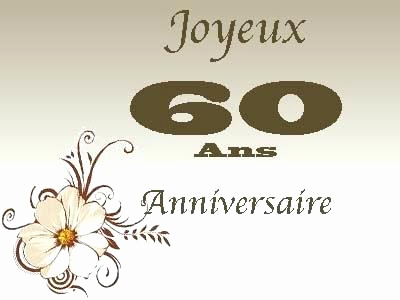 Texte invitation anniversaire femme 60 ans