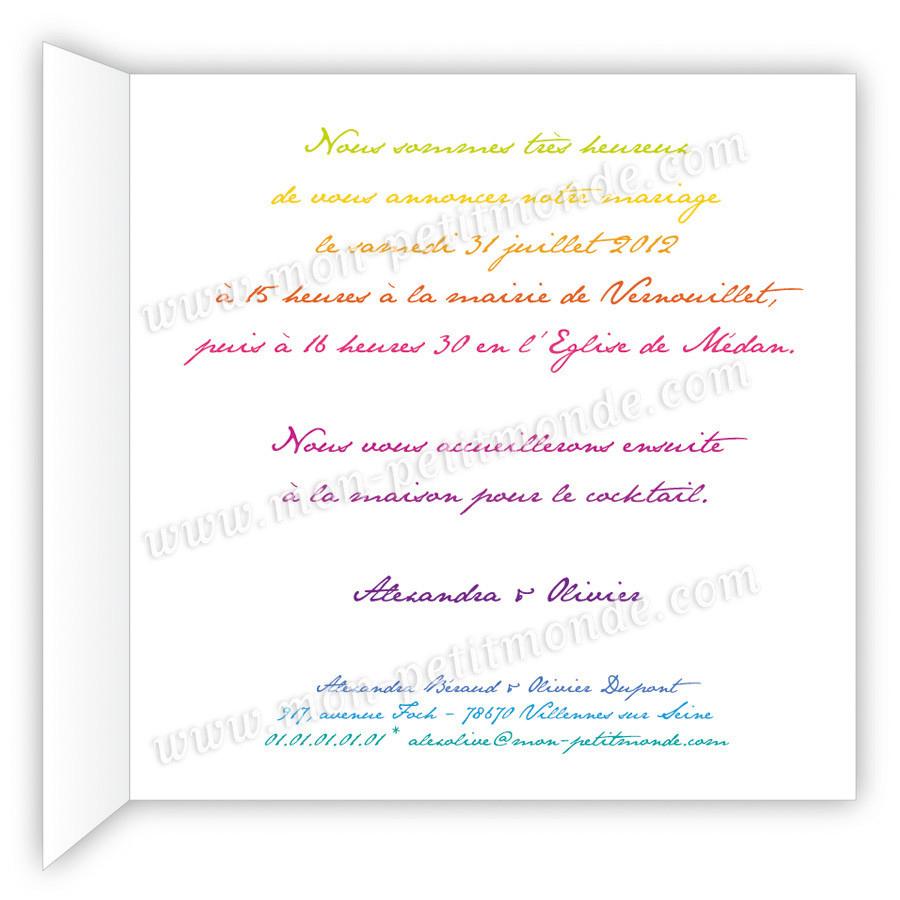 Message invitation anniversaire de mariage