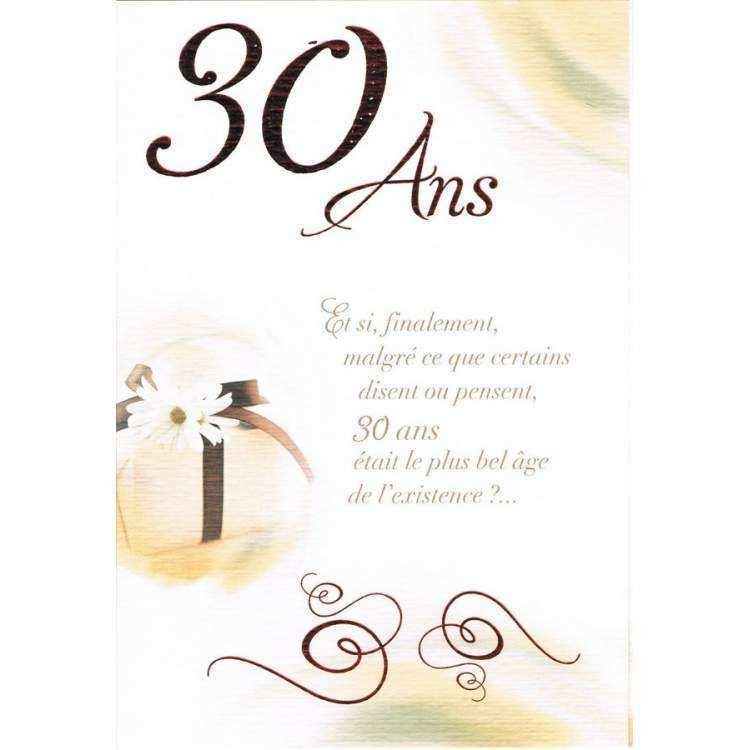 Anniversaire De Mariage 30 Ans Message Elevagequalitetouraine