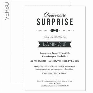 Modèle texte invitation anniversaire original