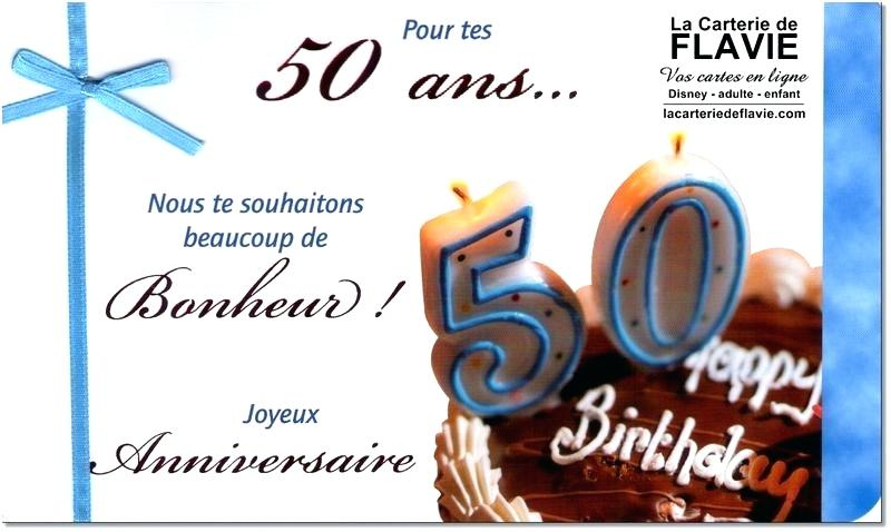 Texte Carte Joyeux Anniversaire 50 Ans Elevagequalitetouraine