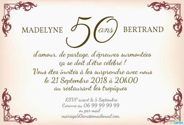 Texte anniversaire 60 ans de mariage