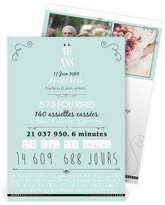 Texte invitation anniversaire mariage 45 ans