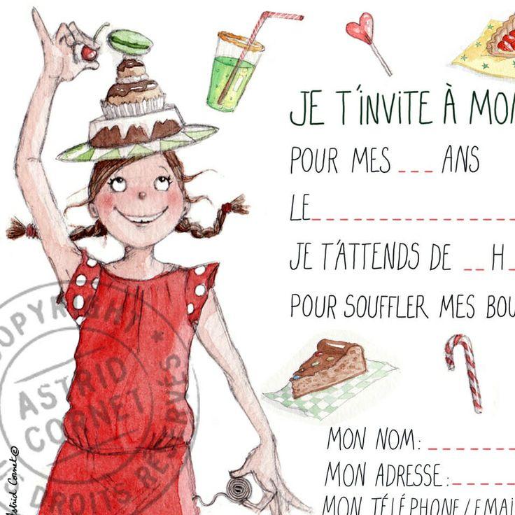 Texte pour invitation anniversaire garçon 8 ans