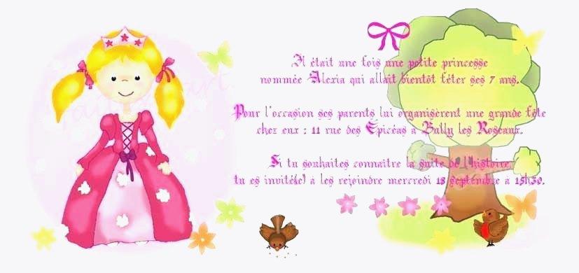 Texte anniversaire pour une petite fille