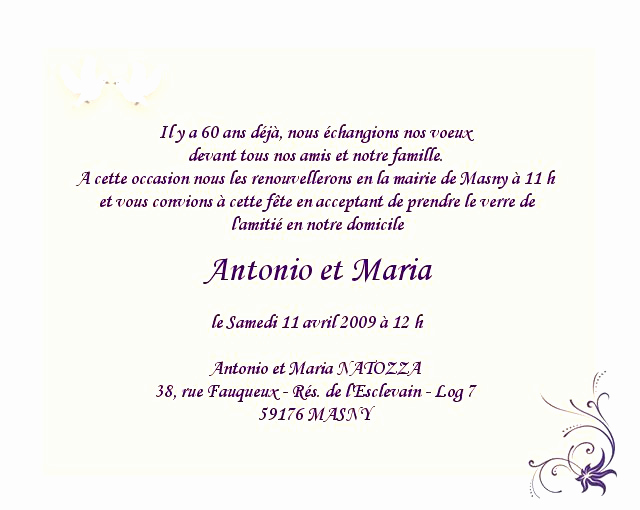 Modele De Texte Pour Invitation Anniversaire Adulte Elevagequalitetouraine