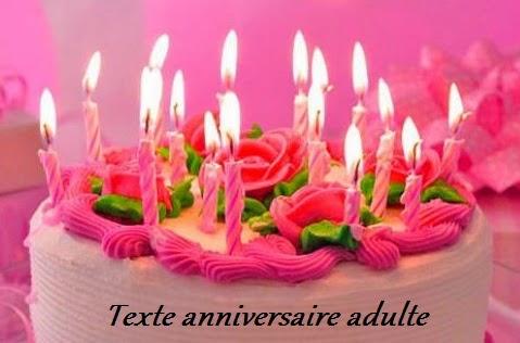 Texte anniversaire pour facebook