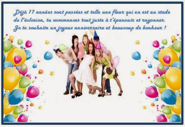 Message carte anniversaire pour enfant
